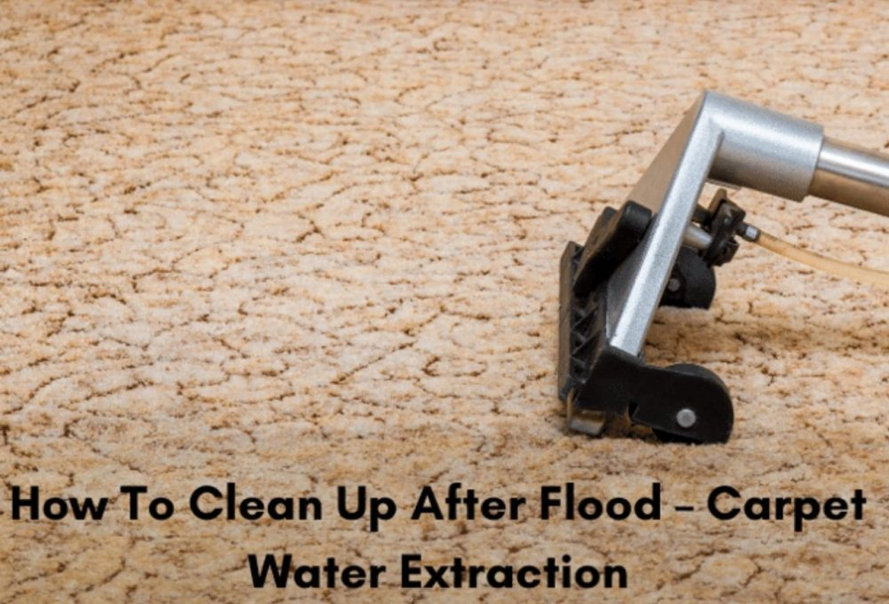 Clean up after Flood Restoration