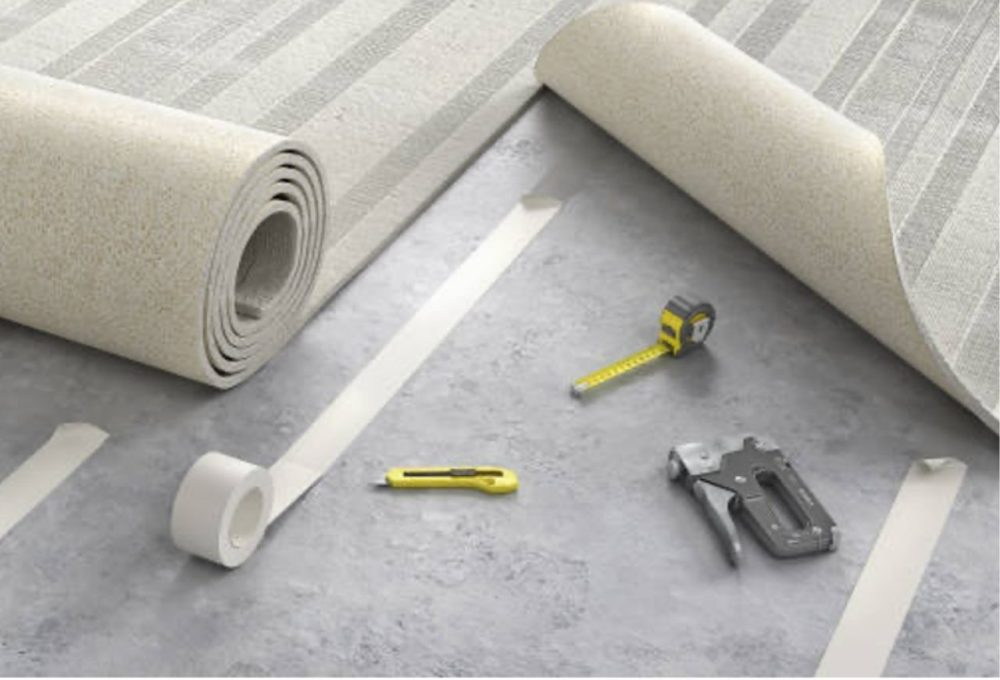 Damaged Carpet