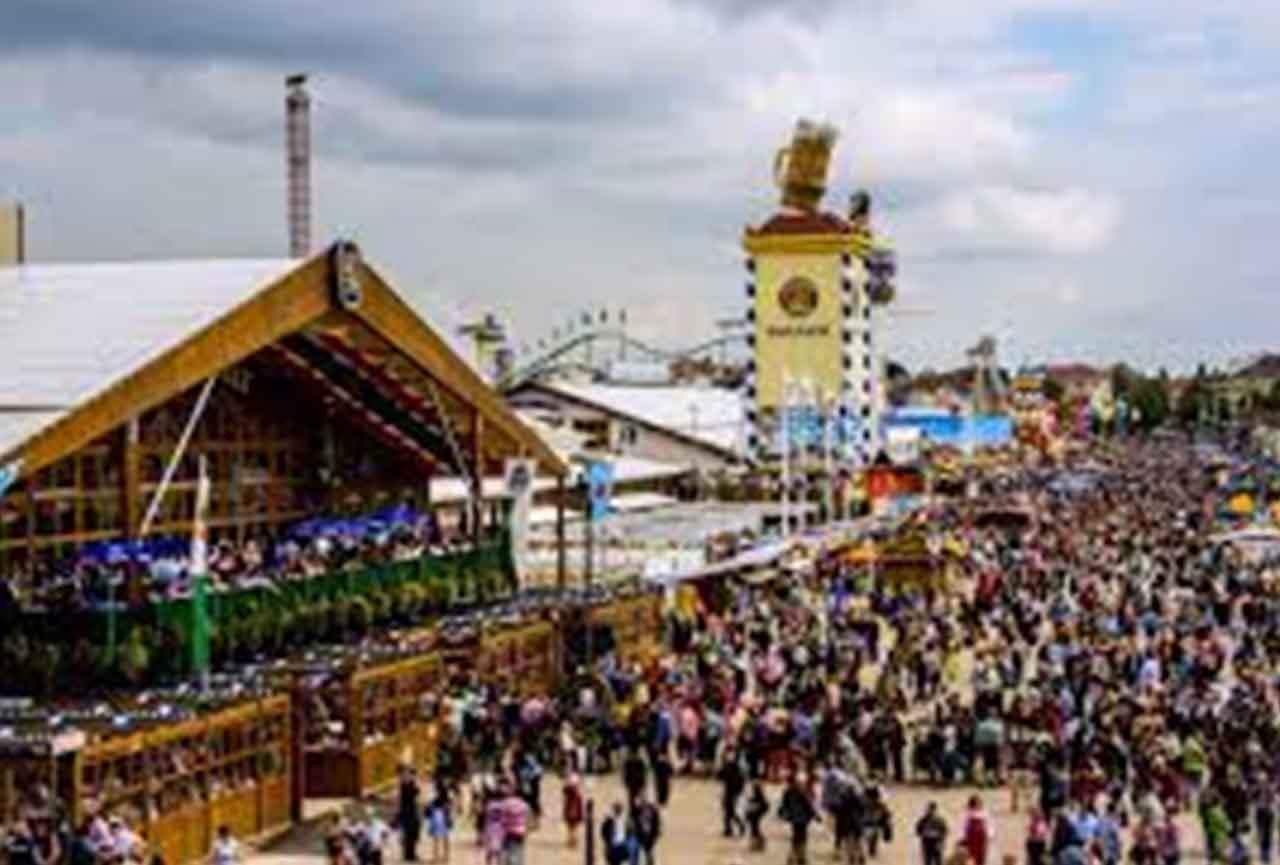 Oktoberfest Festival Celebrates
