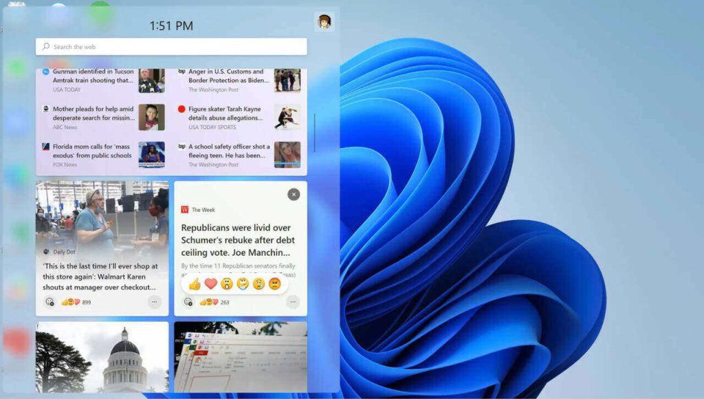 Windows 11 News Feed